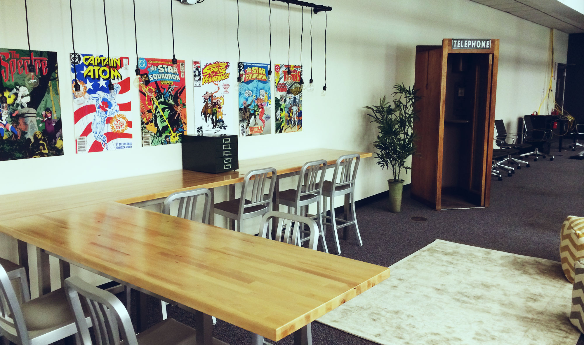 BTV – Cool Work Spaces